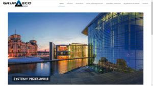Strona WWW Grupa Eco